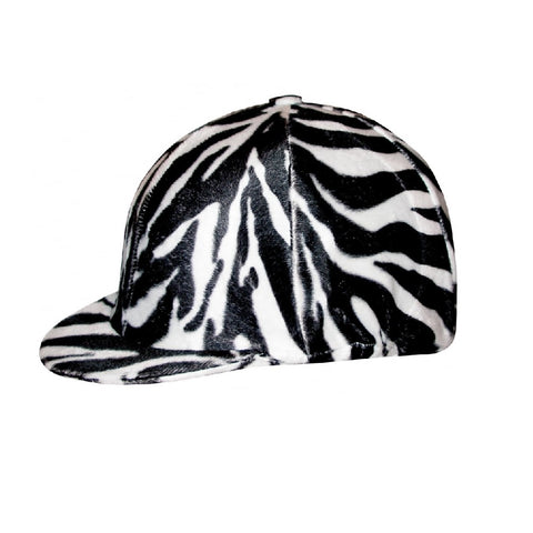 Saddlecraft Zebra Print Hat Cover