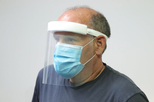 L.O.F. Disposable Face Shields (Case of 200)