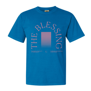 THE BLESSING BLUE OMBRE - UNISEX TEE