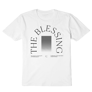THE BLESSING WHITE OMBRE - UNISEX TEE