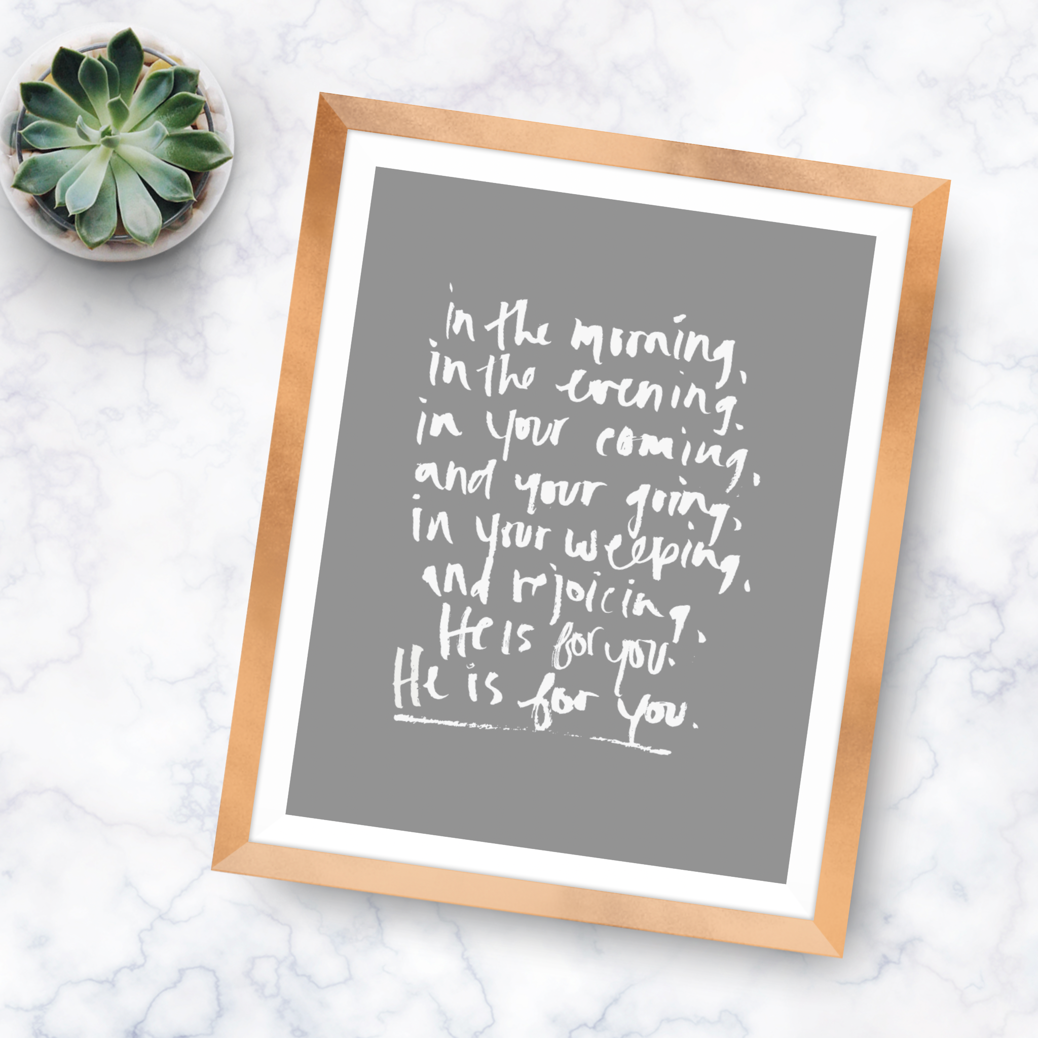 THE BLESSING LYRICS - 8x10 PRINTS