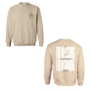 THE BLESSING LIVESTREAM SWEATSHIRT - TAN