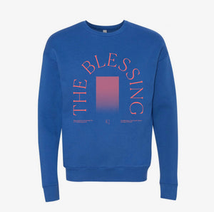 THE BLESSING OMBRÉ SWEATSHIRT