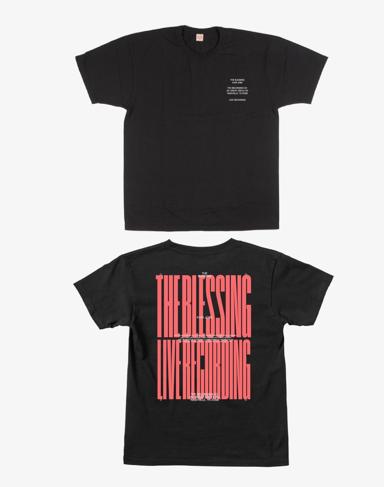 THE BLESSING LIVESTREAM TEE - PINK
