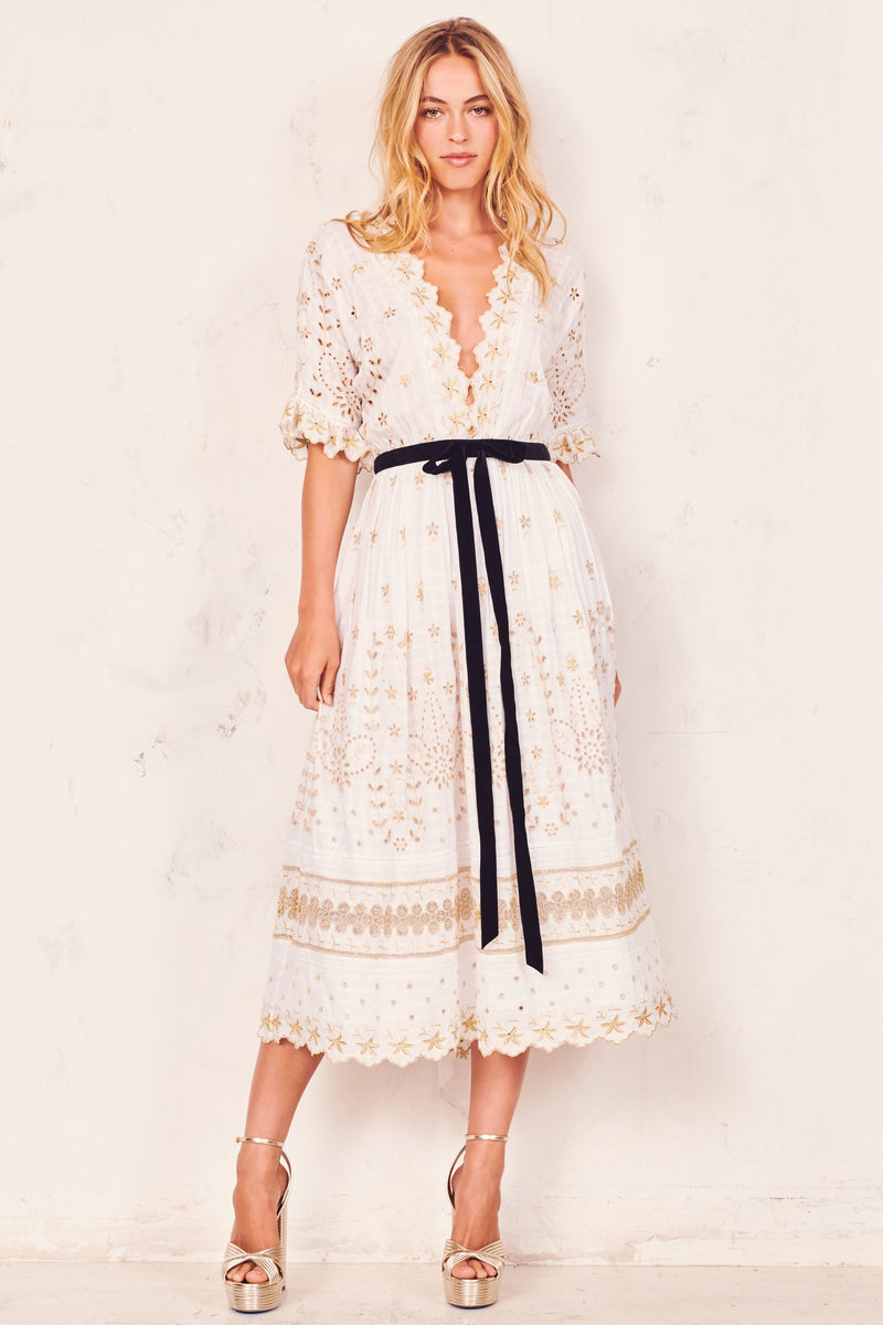 Love Shack Fancy, Love Shack Fancy Augusta Dress, Resort Collection, Resort 2019, Pre Spring