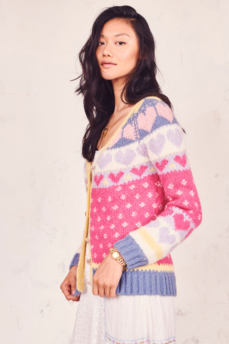 Love Shack Fancy, Love Shack Fancy Deena Cardigan, Resort 2019, Cardigan Sweater, Sweater