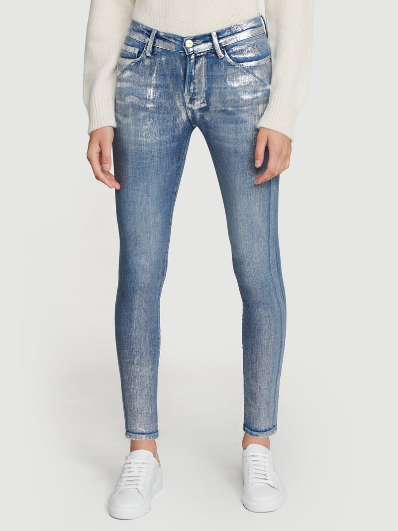 Frame Le Skinny De Jeanne All Over Foil, Frame Denim, Foil Jean