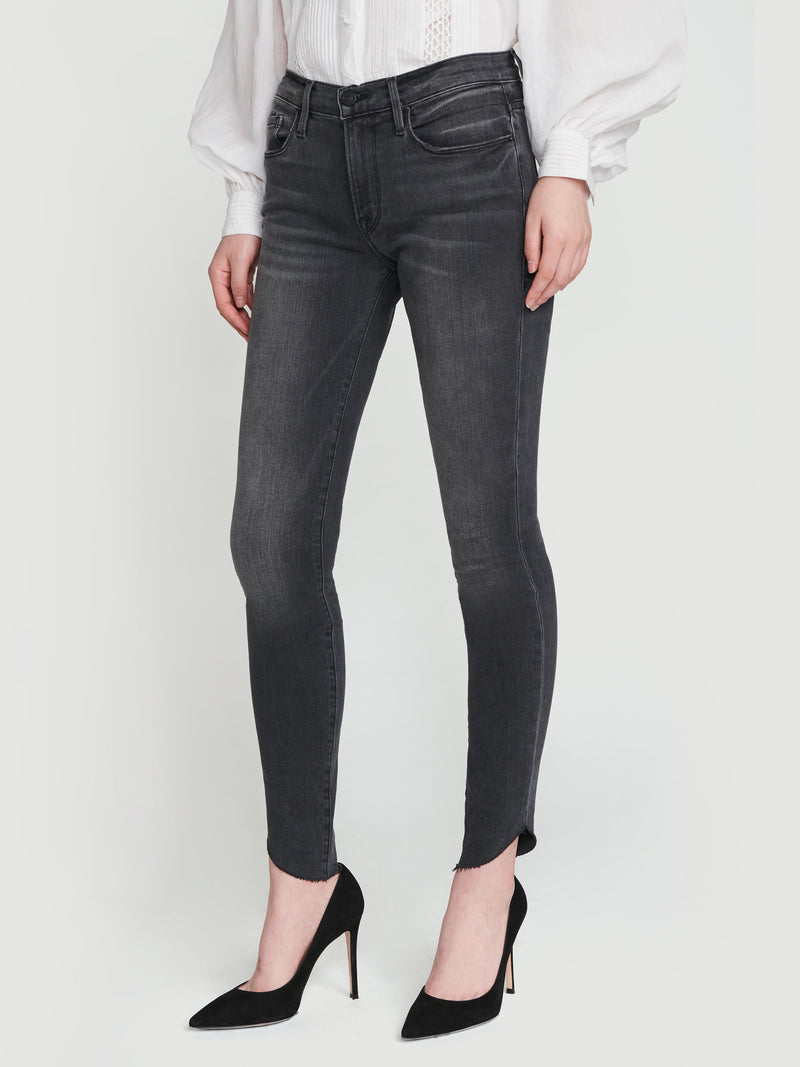Le Skinny De Jeanne Raw Edge Scoop