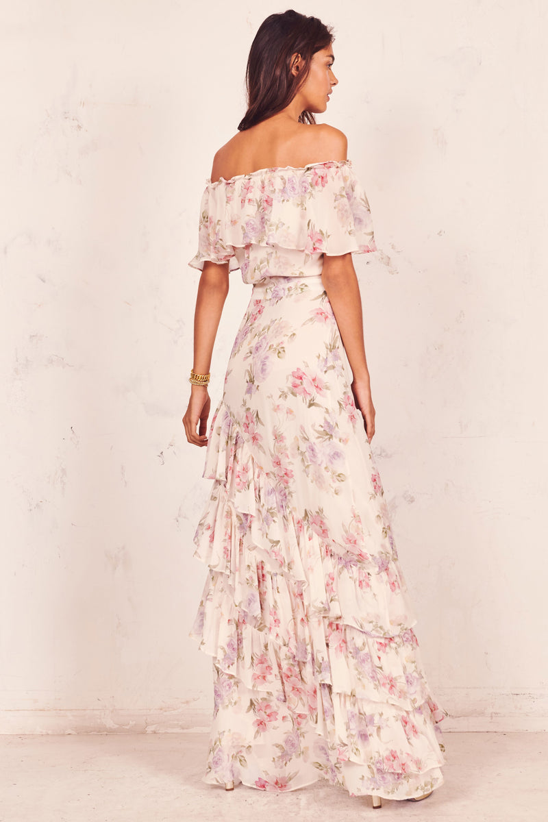Love Shack Fancy, Love Shack Fancy Spring 2020, Love Shack Fancy Plum Dress, Plum Dress, Silk Dress, Spring Dress, Spring 2020