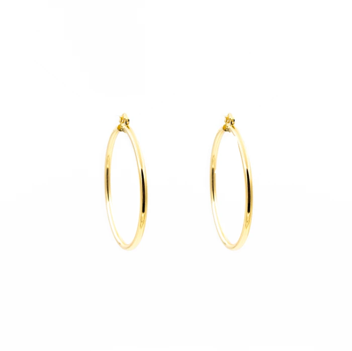 G2G Jewelry, G2G Earring, Gold Hoops, Gold Jewelry, Gold Earring