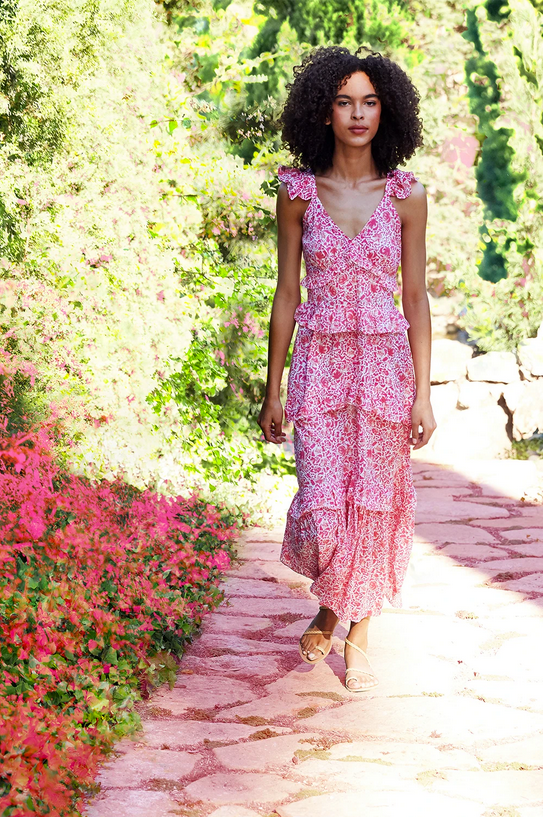 Misa Los Angeles, Misa Los Angeles Morrison Dress, Summer Dress, Spring Dress, Floral Dress