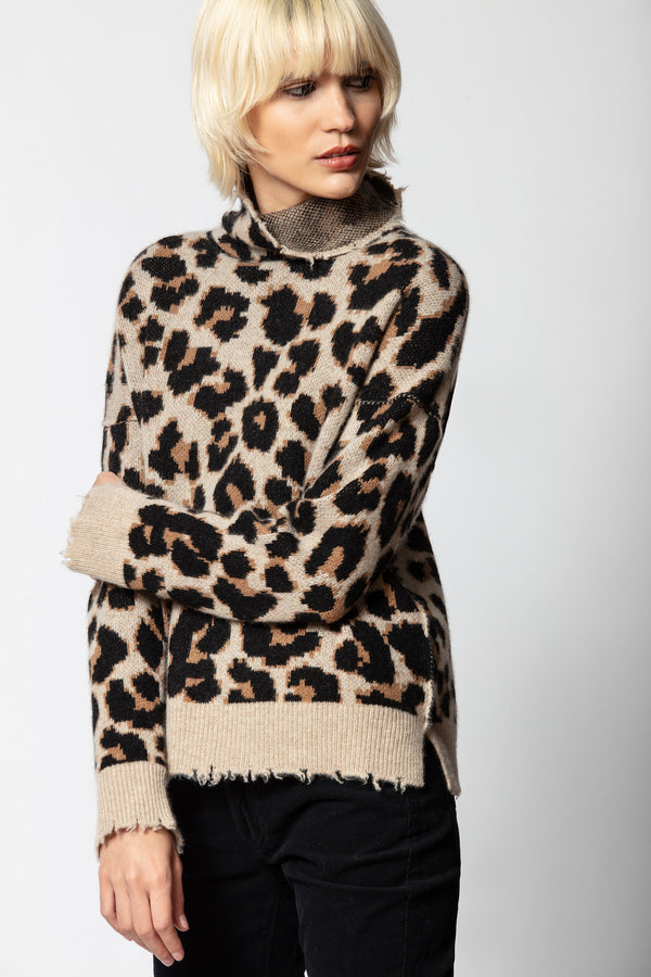 Gillian Cashmere Leo Sweater