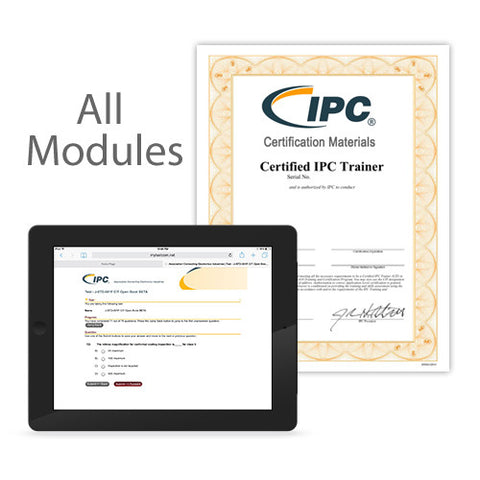 IPC-A-610 CIS Certification/Recertification Exam Funds - Online Print Exam (All Modules)