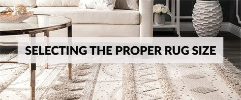 Selecting The Proper Rug Size Thumbnail