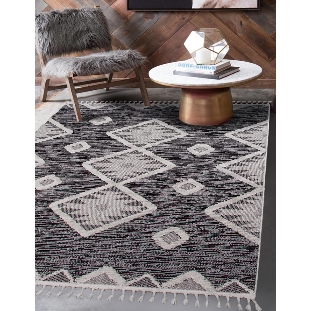 Atlas Rug 04 Dark Grey 3
