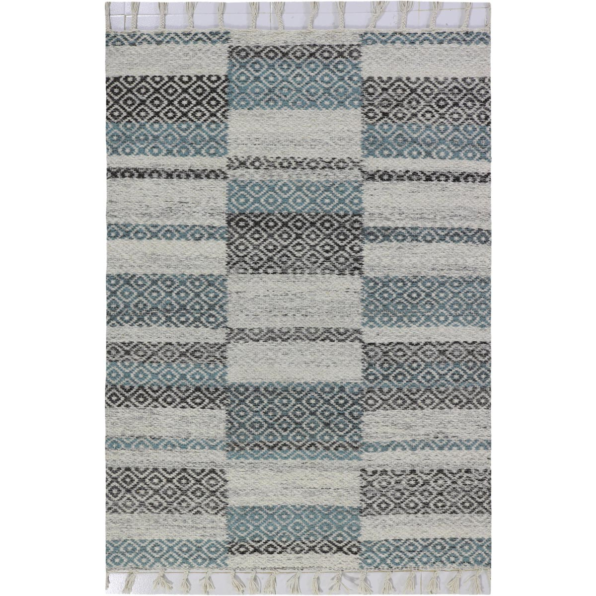 Tangier Rug 10 Grey/Blue 1