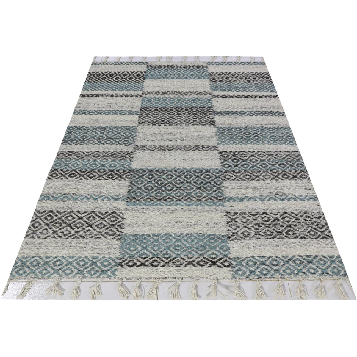 Tangier Rug 10 Grey/Blue 2