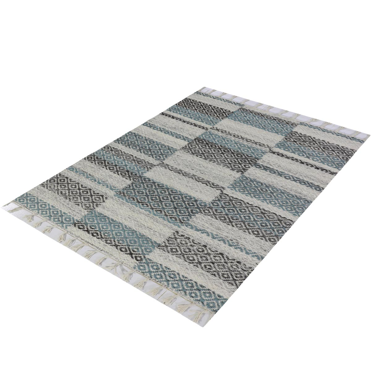 Tangier Rug 10 Grey/Blue 3