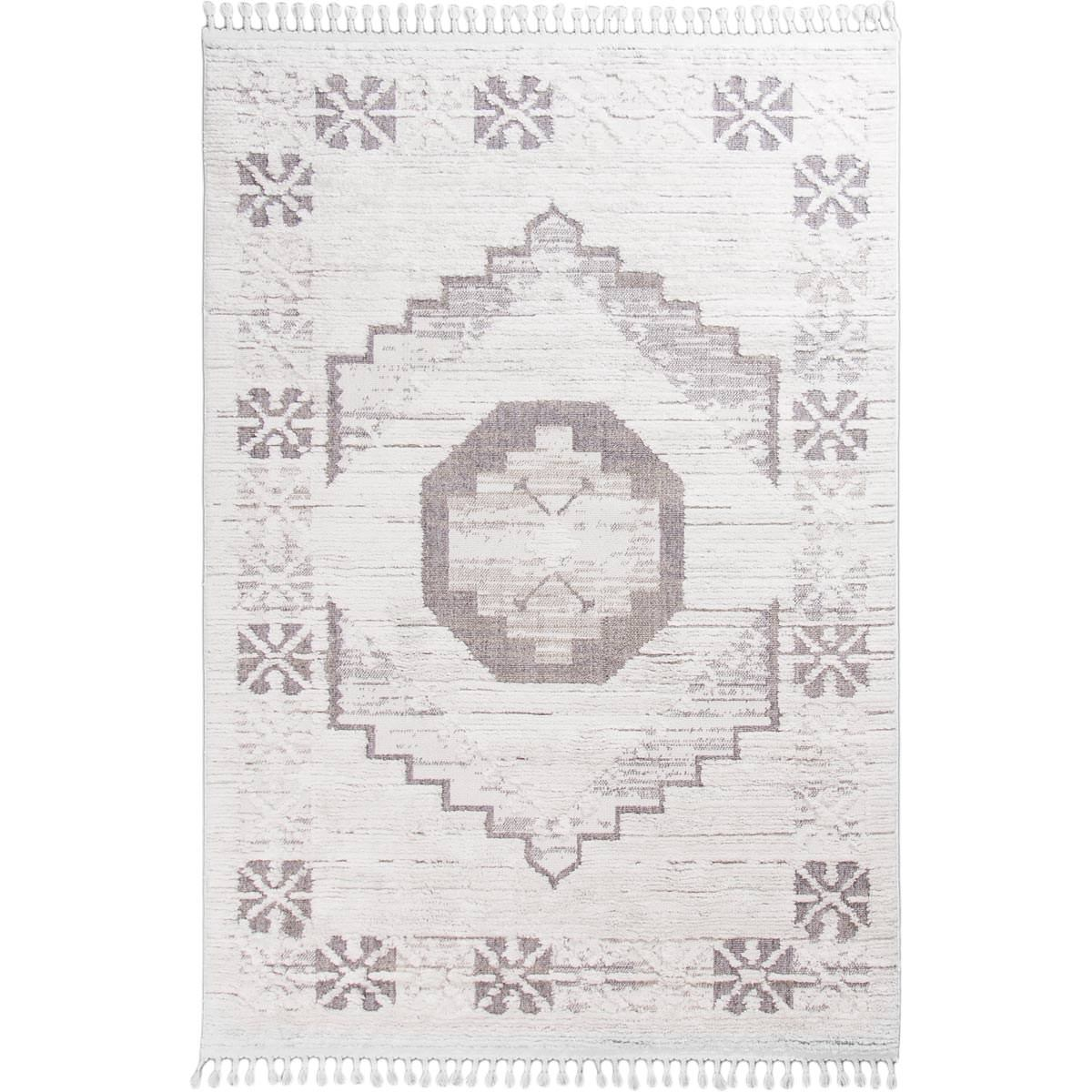 Atlas Rug 01 Grey/Cream 1