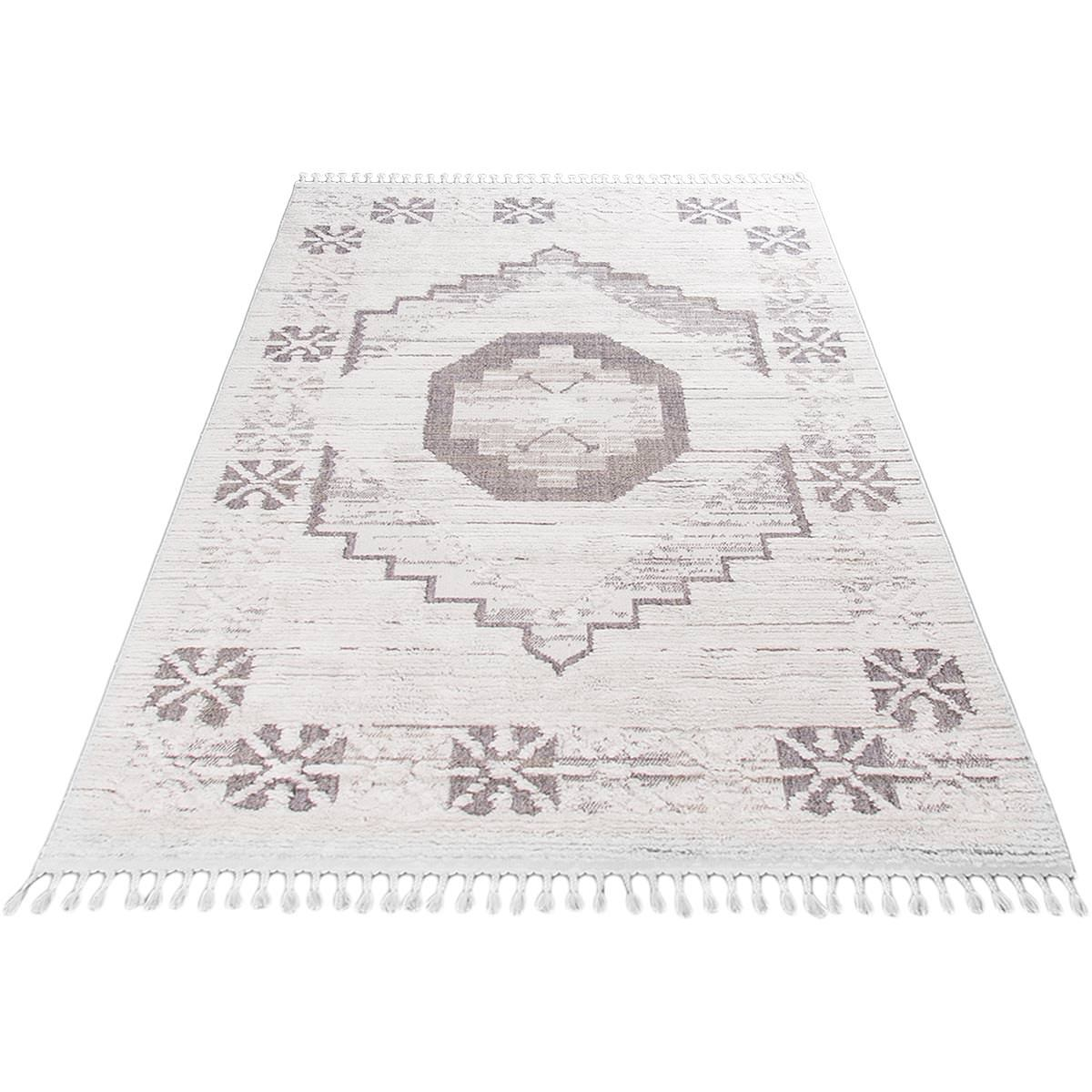 Atlas Rug 01 Grey/Cream 6