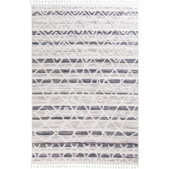 Atlas Rug 03 Light Blue/Cream