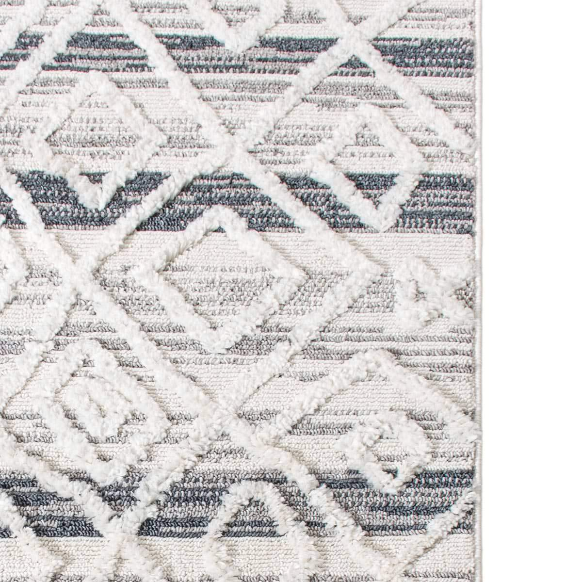 Atlas Rug 03 Light Blue/Cream 6