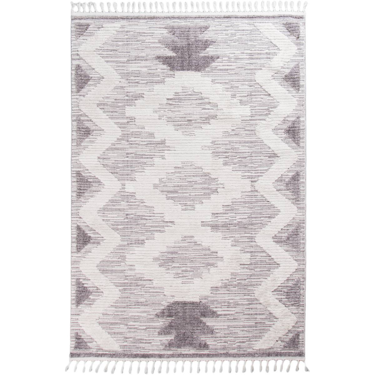 Atlas Rug 06 Grey/Cream 1