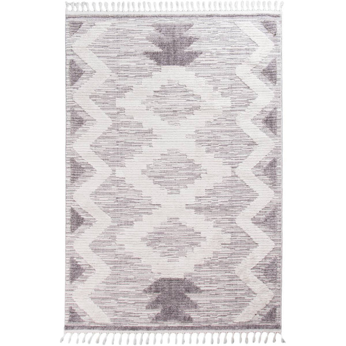 Atlas Rug 06 Grey/Cream