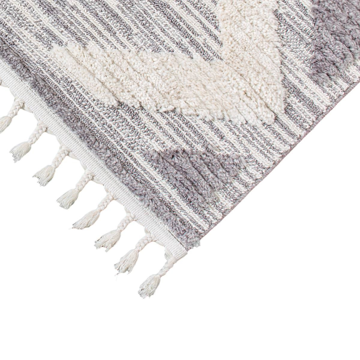 Atlas Rug 06 Grey/Cream 4