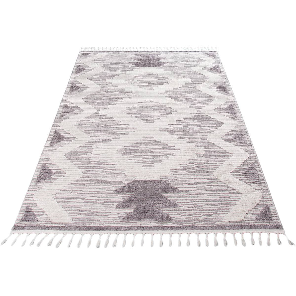 Atlas Rug 06 Grey/Cream 6