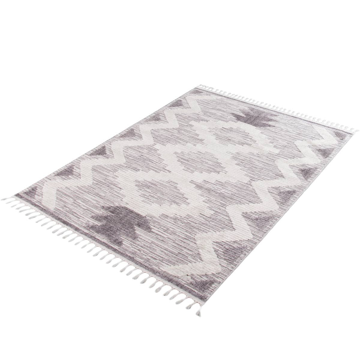 Atlas Rug 06 Grey/Cream 7