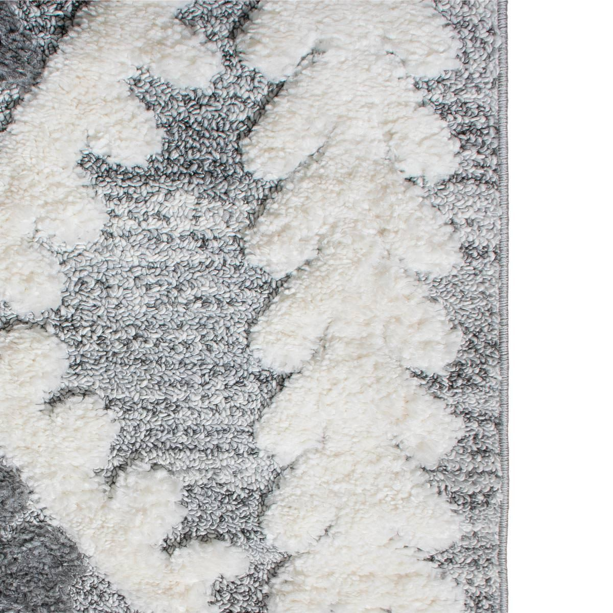 Atlas Rug 08 Grey Runner - Fringes 3
