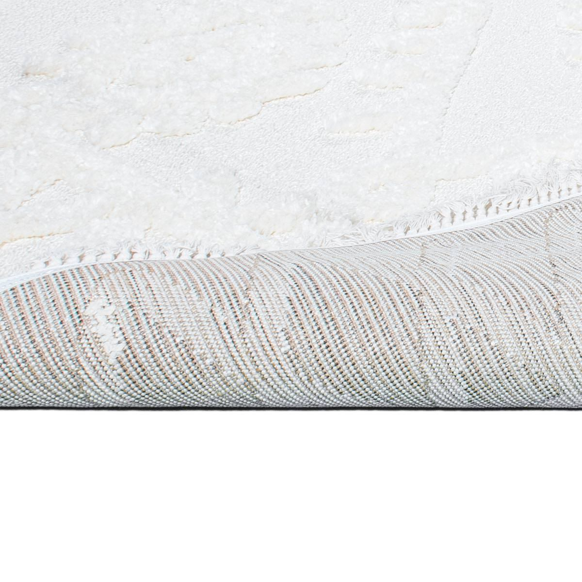 Atlas Rug 11 Cream - Fringes 5