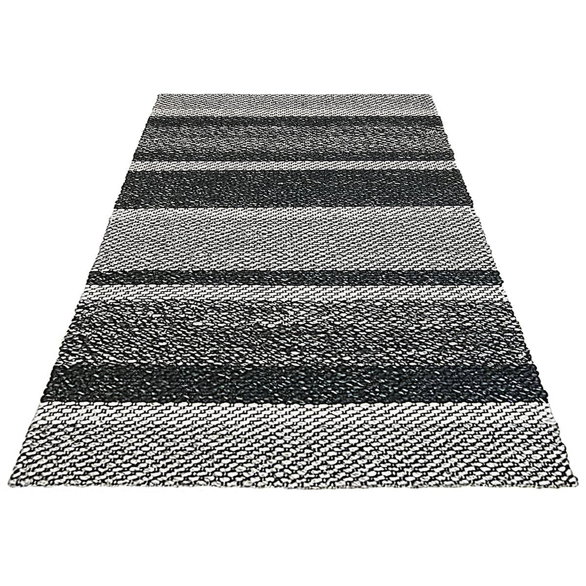 Braided Jute Rug 02 Grey/Black 2