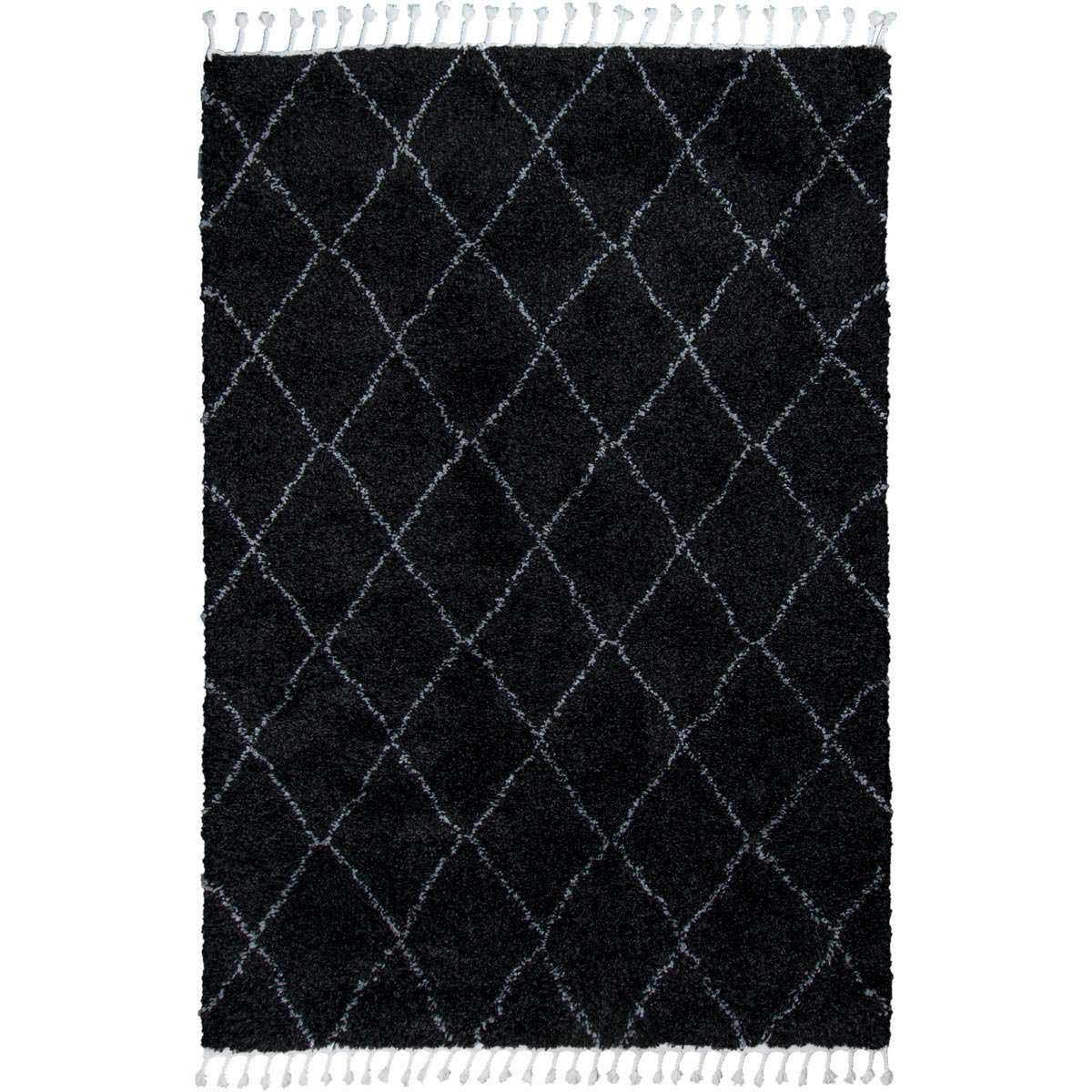 Casablanka Rug 04 Black/White 1