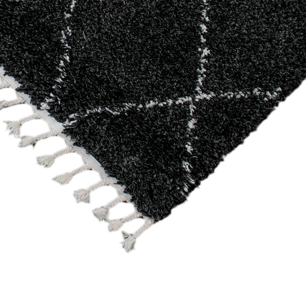 Casablanka Rug 04 Black/White 2