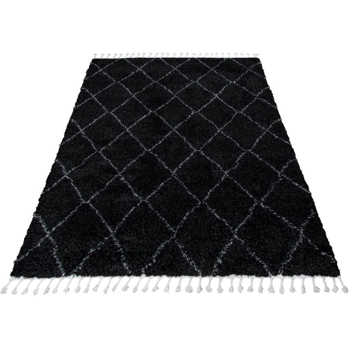 Casablanka Rug 04 Black/White 5