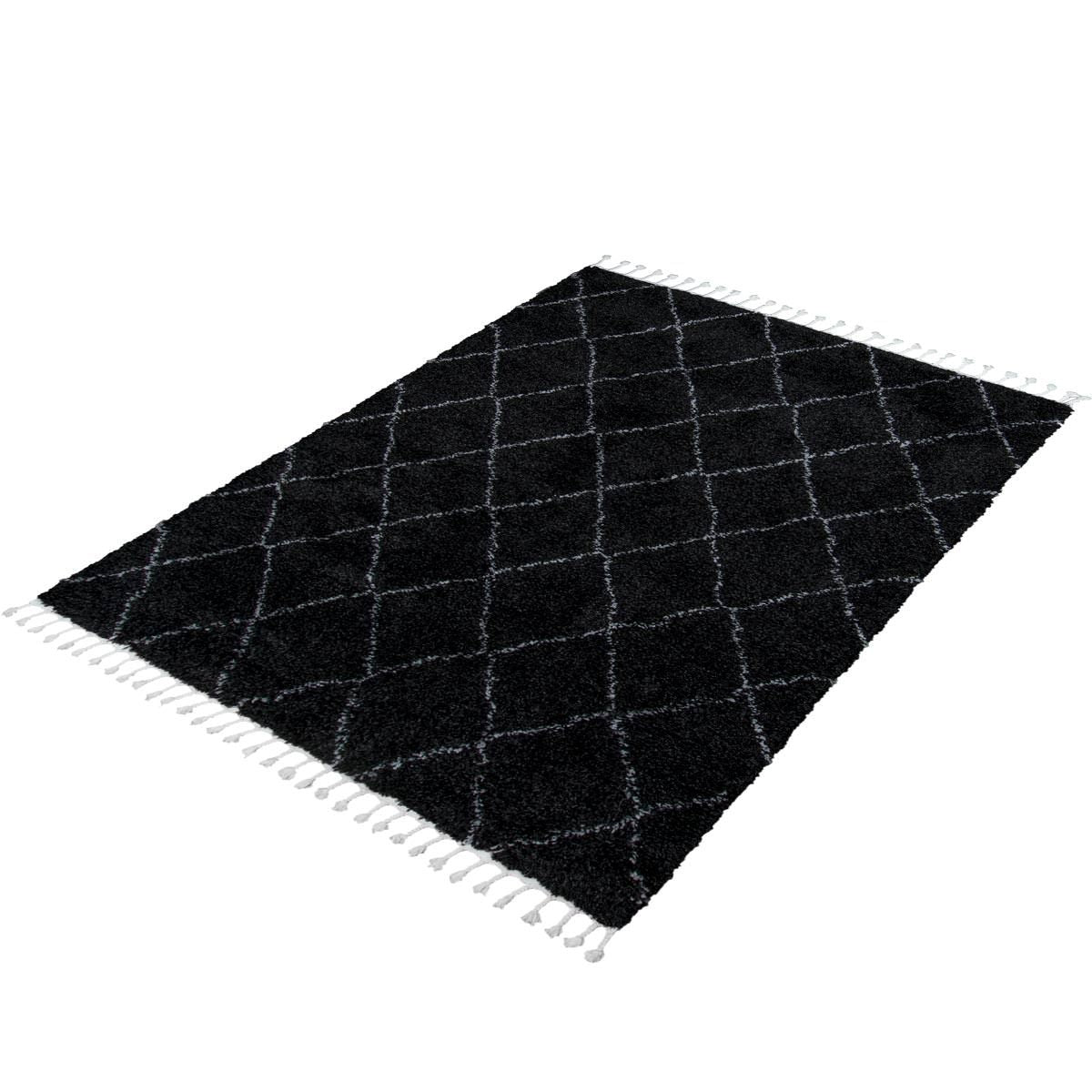Casablanka Rug 04 Black/White 6