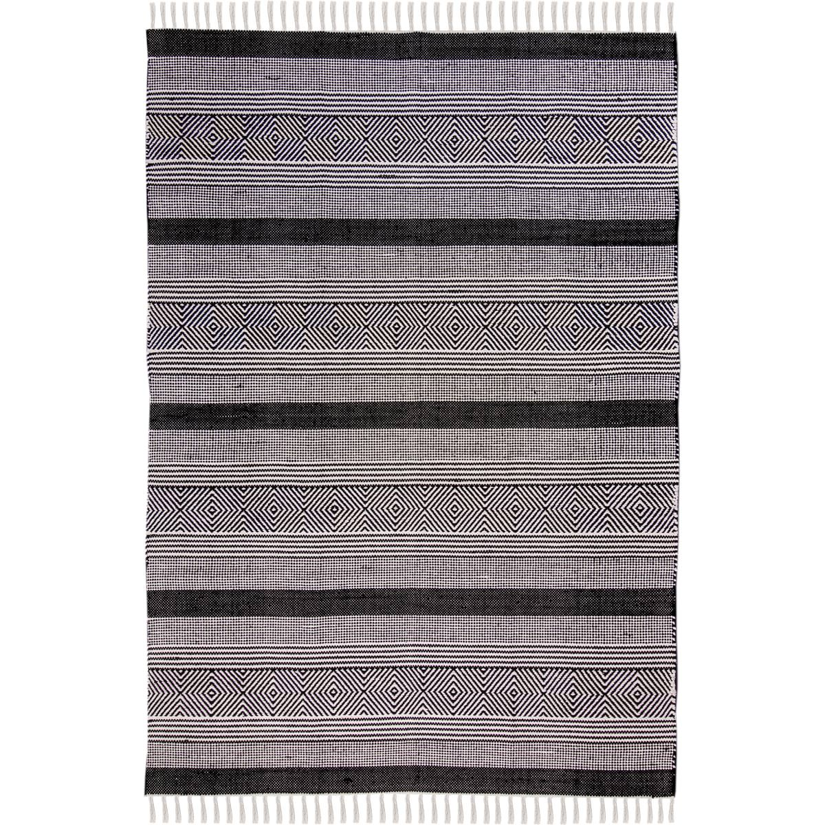 Chicago Rug 03 Black 1