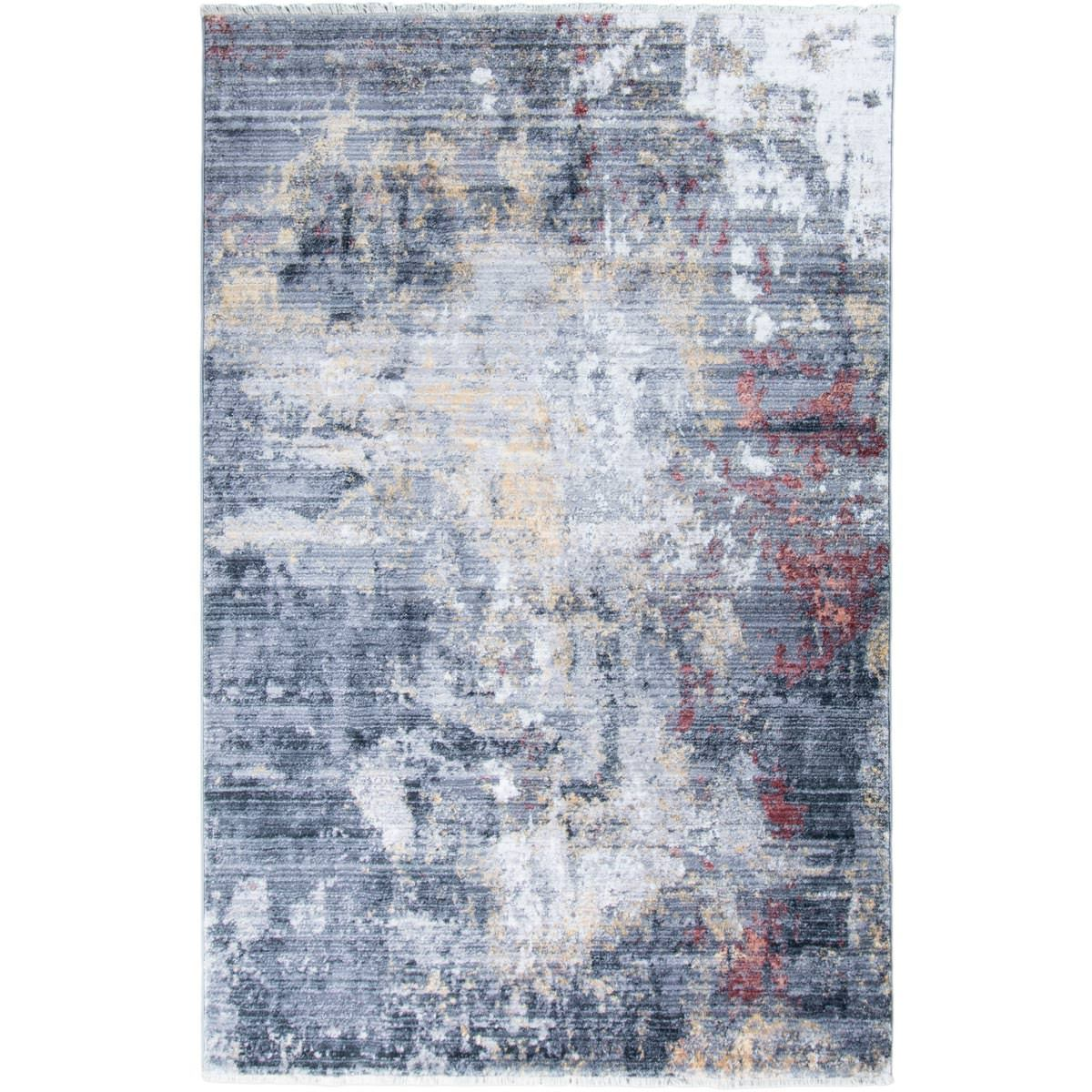 Istanbul Rug 02 Grey/Yellow/Orange 1