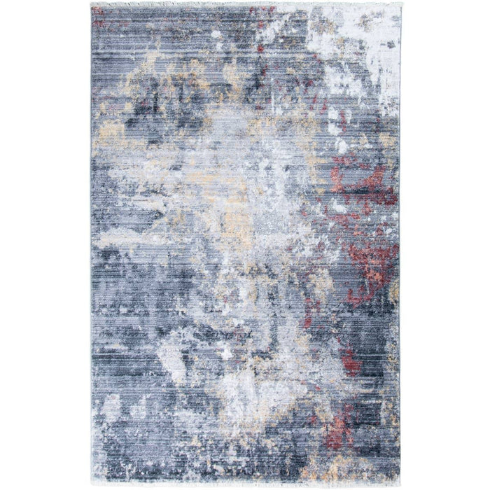 Istanbul Rug 02 Grey/Yellow/Orange