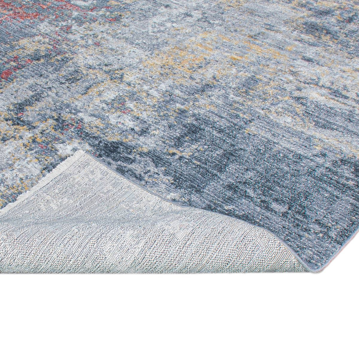 Istanbul Rug 02 Grey/Yellow/Orange 4