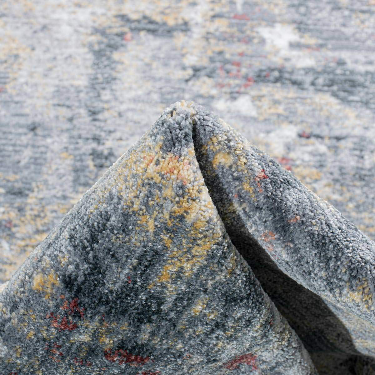 Istanbul Rug 02 Grey/Yellow/Orange 5