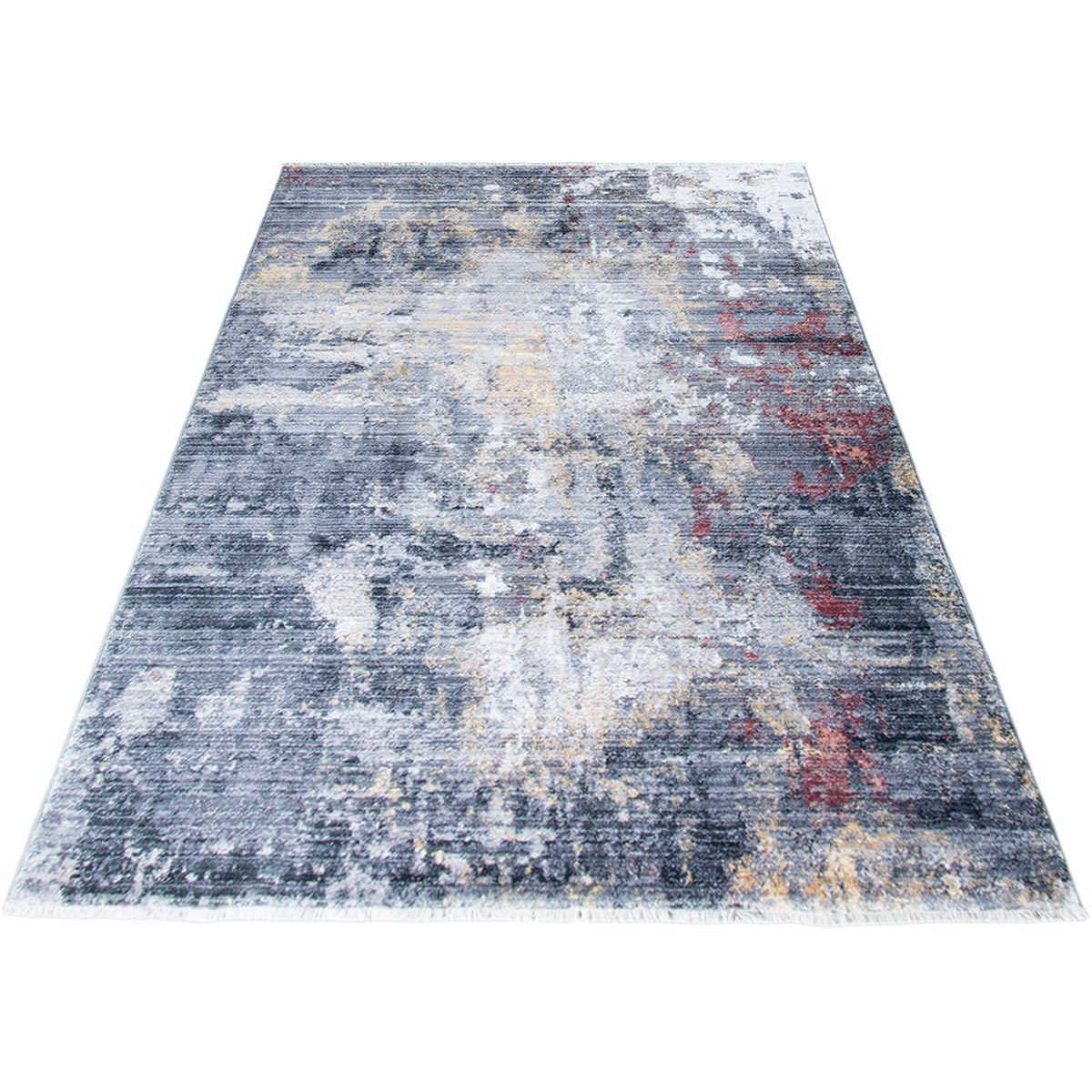 Istanbul Rug 02 Grey/Yellow/Orange 6