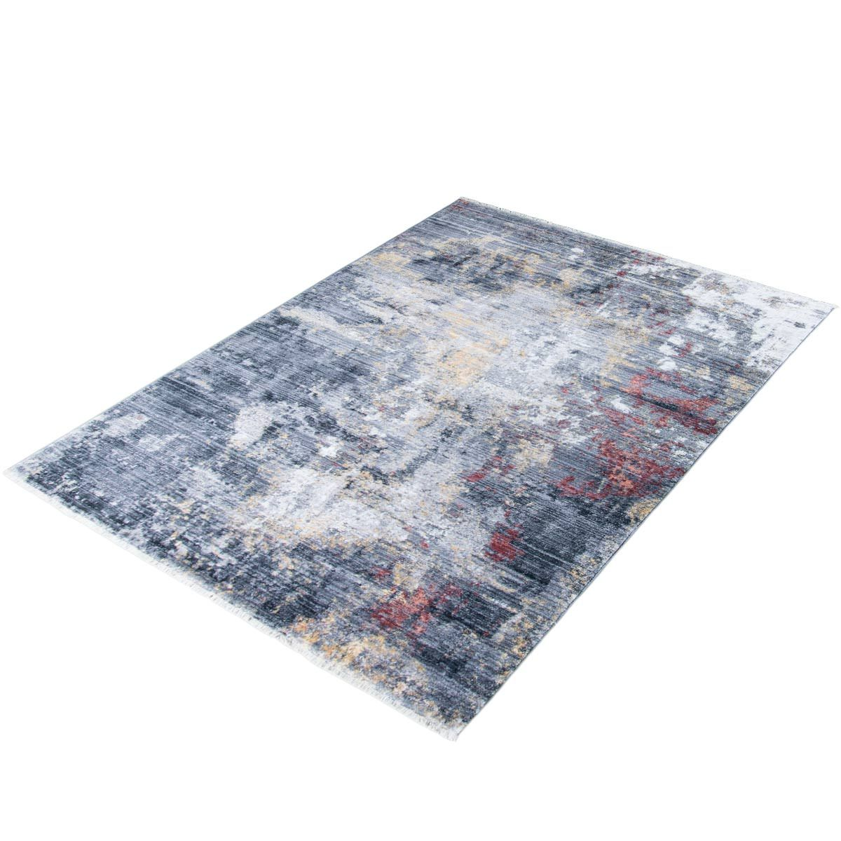 Istanbul Rug 02 Grey/Yellow/Orange 7