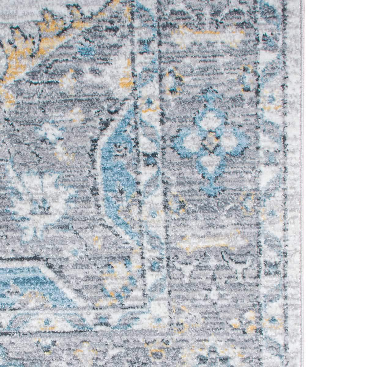 Istanbul Rug 08 Light Grey/Yellow 3
