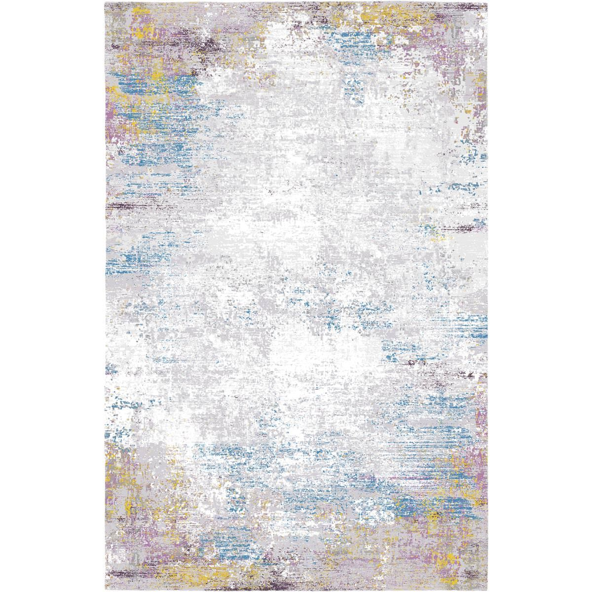 Jaipur Rug 03 Purple/Light Blue/Yellow 1
