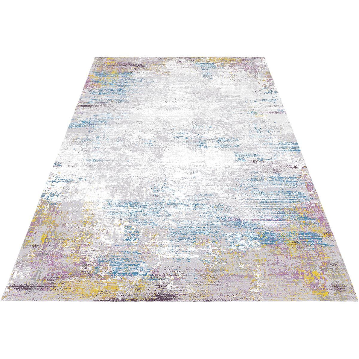 Jaipur Rug 03 Purple/Light Blue/Yellow 2