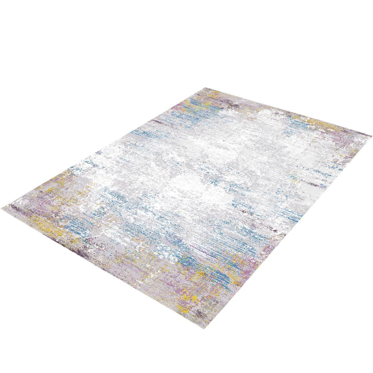 Jaipur Rug 03 Purple/Light Blue/Yellow 3