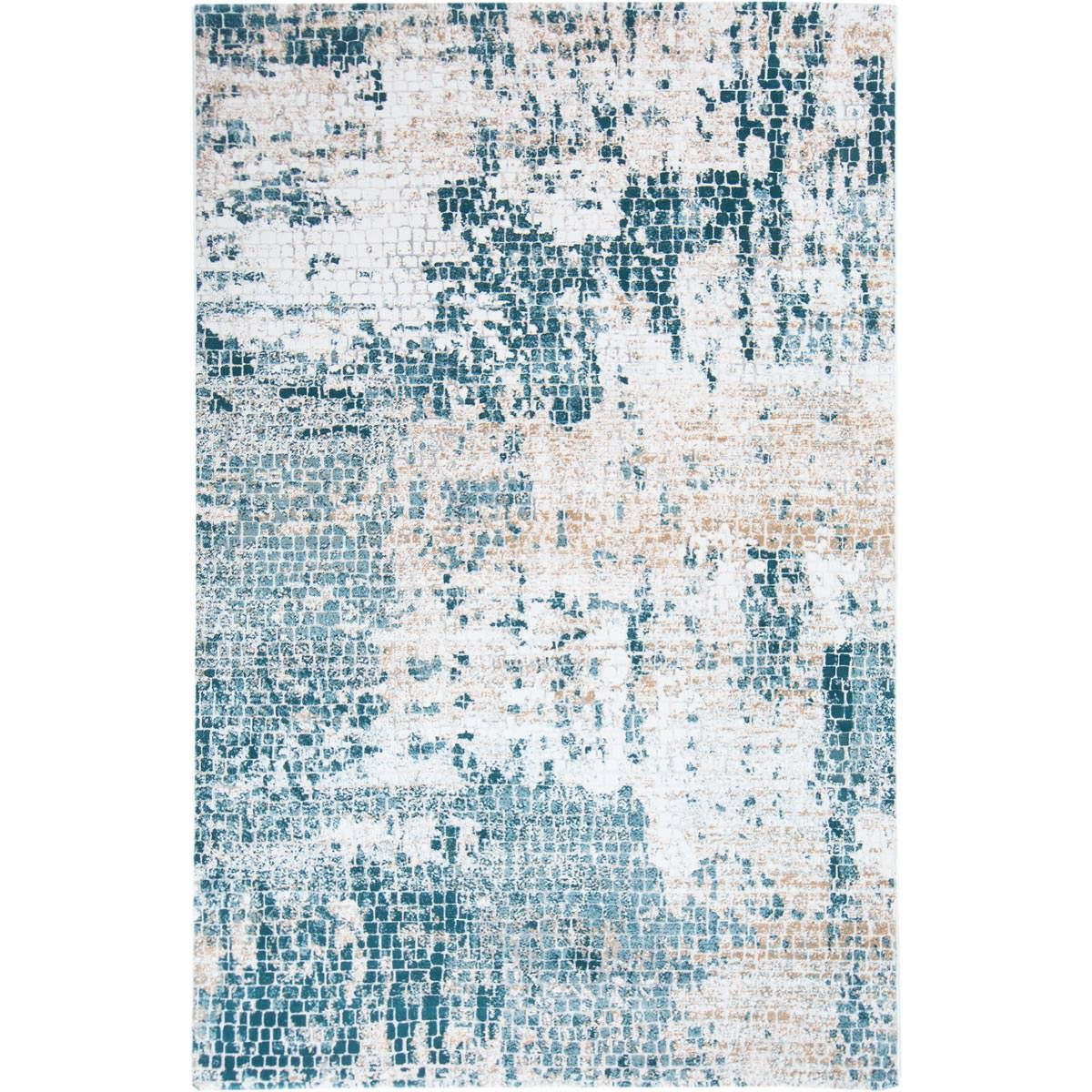 Madrid Rug 01 Blue 1